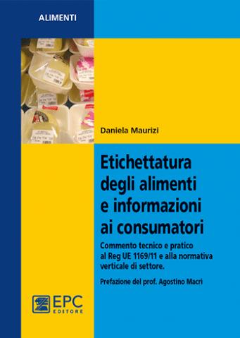 libro etichettatura degli alimenti
