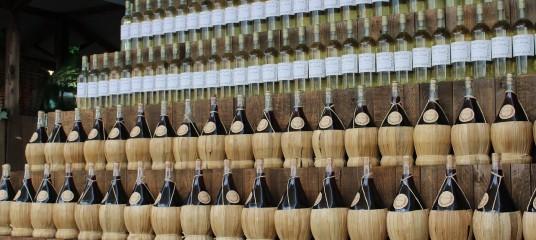 bottiglie vino biologico