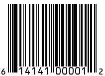 simbolo codice a barre