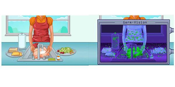 batteri-in-cucina
