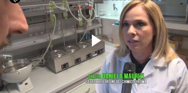 Daniela Maurizi Le Iene palazzi di Roma servizio