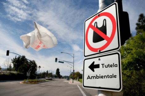 riduzione sacchetti di plastica