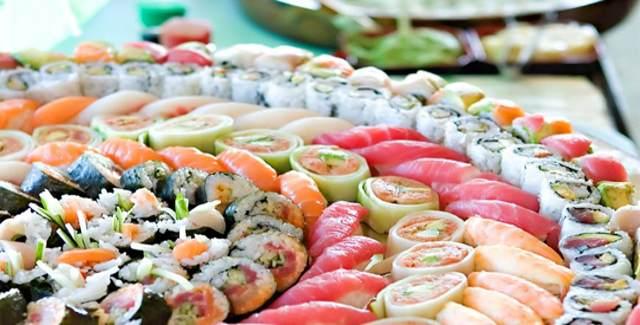 sushi e pericoli del pesce crudo