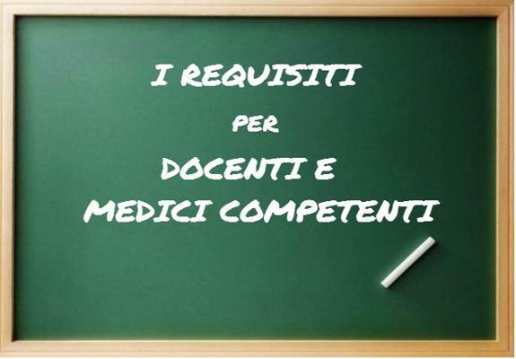 requisiti per docenti e medici competenti sicurezza sul lavoro