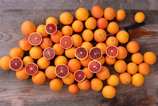 arance per succhi