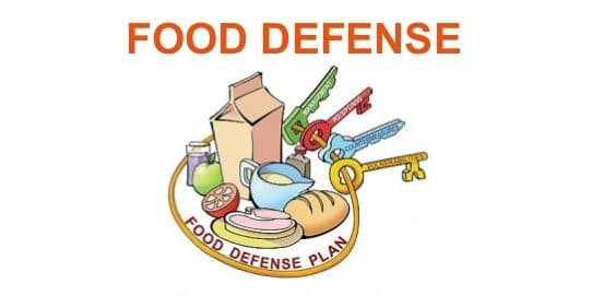 food defense plan
