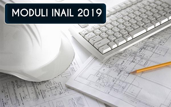 moduli inail 2019