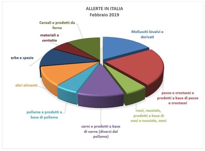 allerte in italia febbraio 2019